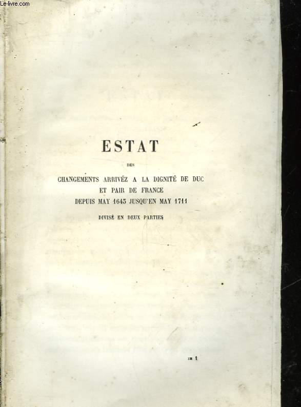 ECRITS INEDIT DE SAINT-SIMON - TOME III - MELANGES II