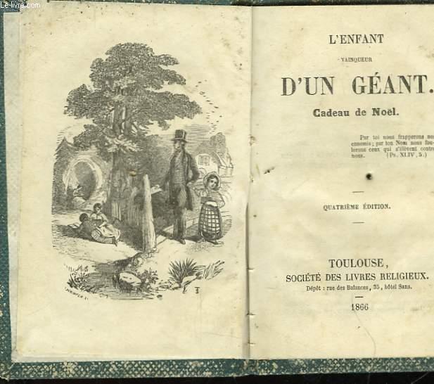L'ENFANT VINQUEUR D'UN GEANT - CADEAU DE NOEL