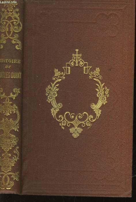 HISTOIRE DE L'EMPEREUR CHARLES-QUINT D'APRES ROBERTSON