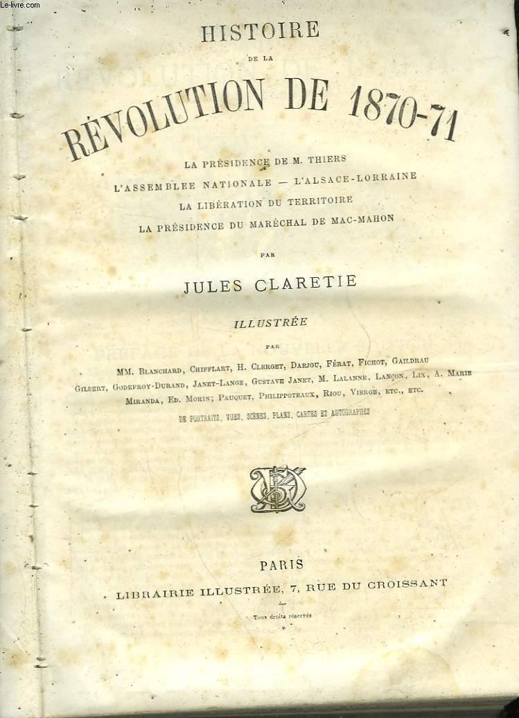 HISTOIRE DE LA REVOLUTION DE 1870-71 - TOME 2