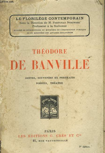 THEODORE DE BANVILLE