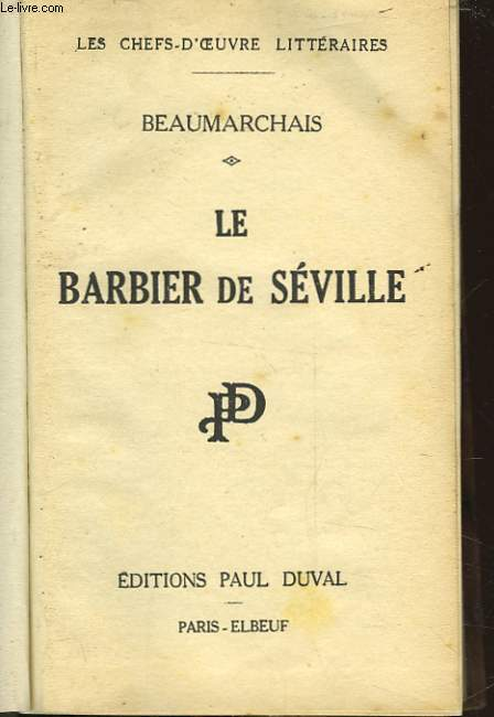 LE BARBIER DE SEVILLE