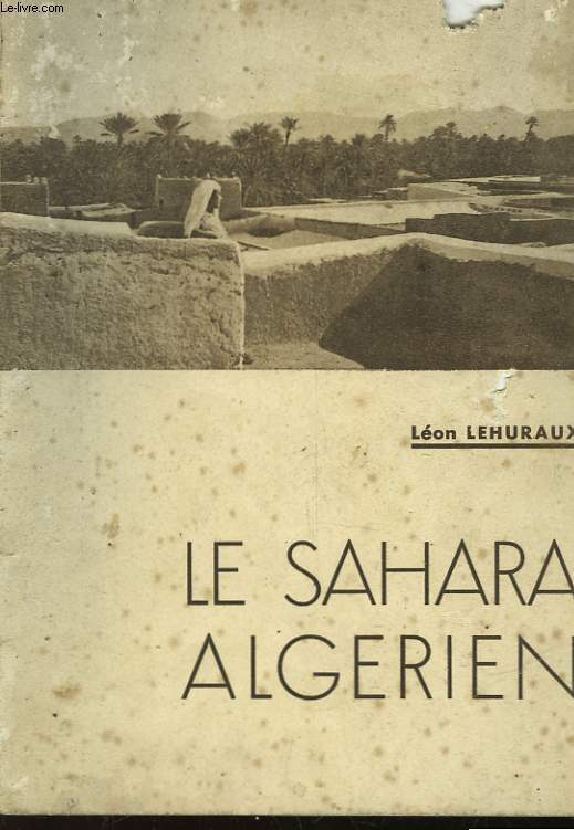 LE SAHARA ALGERIEN