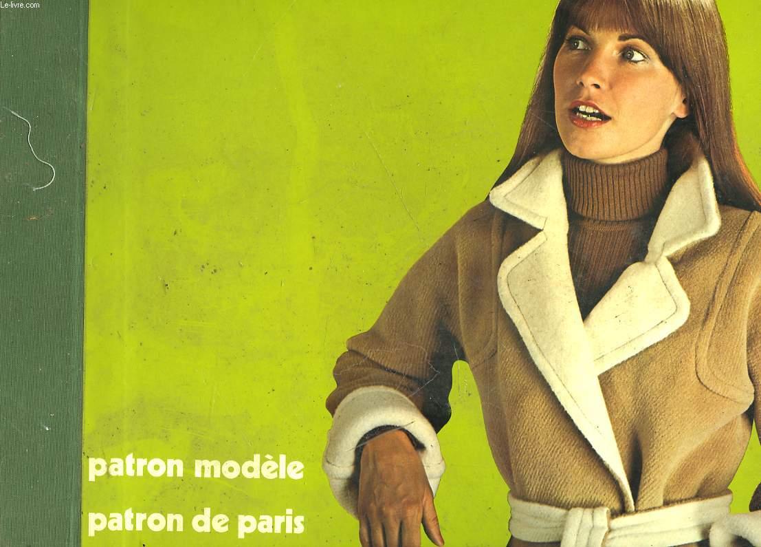 PATRON MODELE - PATRON DE PARIS