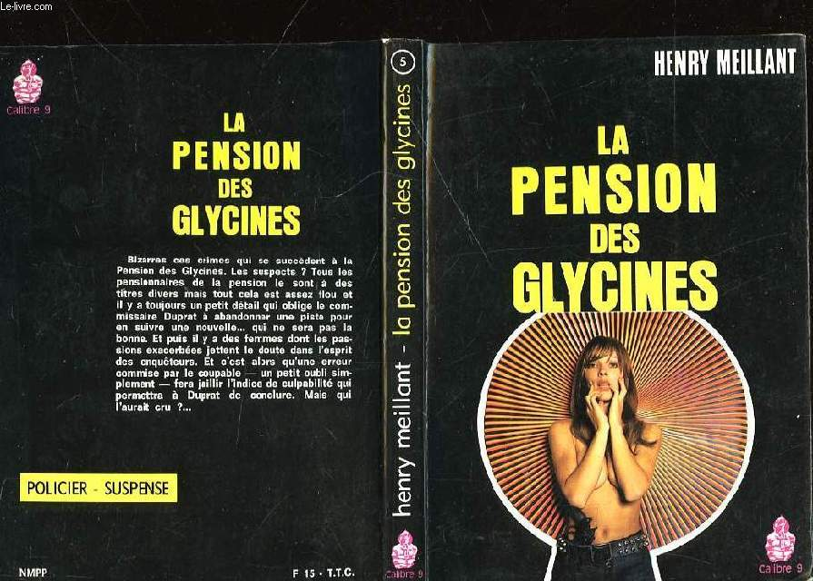 LA PENSION DES GLYCINES