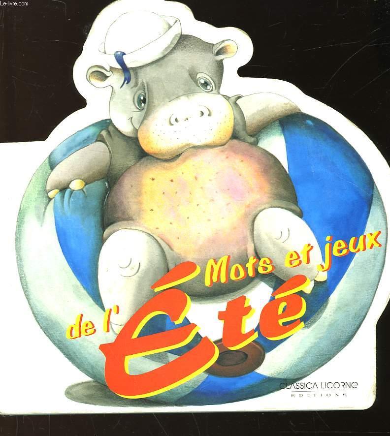 MOTS ET JEUX DE L'ETE