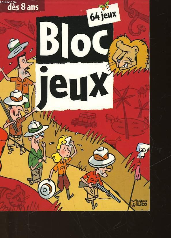 BLOC JEUX - DES 8 ANS