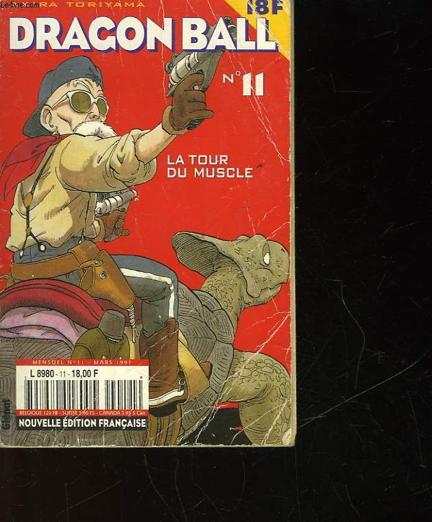 DRAGON BALL - N°11 - LA TOUR DU MUSCLE