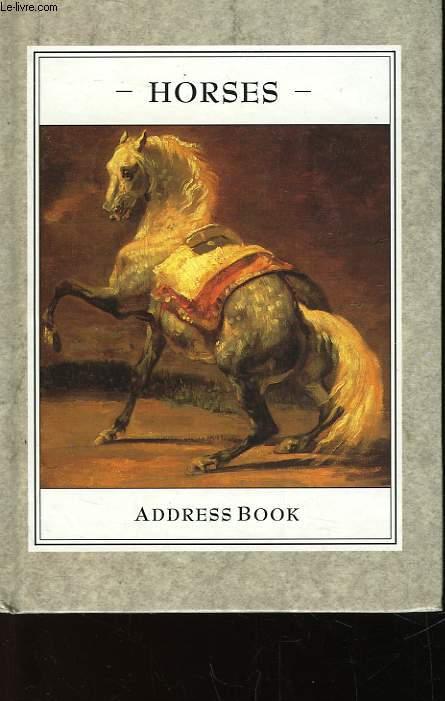 HORSES - ADRESS BOOK