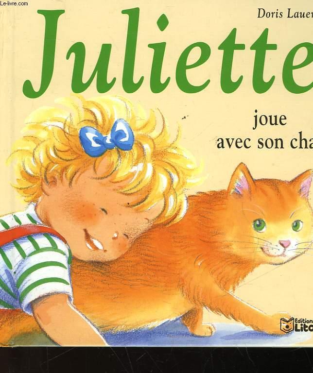 JULIETTE JOUR AVEC SON CHAT - N°8