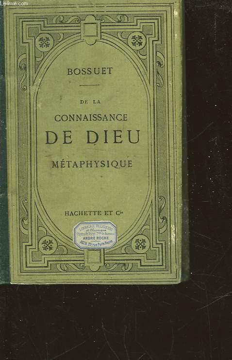 DE LA CONNAISSANCE DE DIEU ET DE SOI-MEME