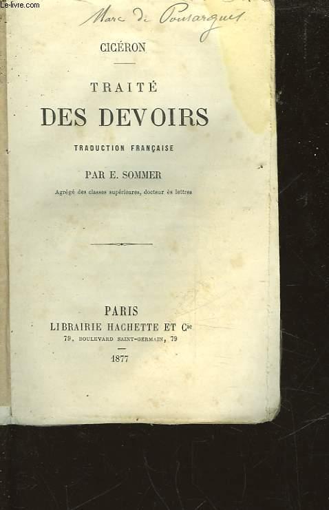 TRAITE DES DEVOIRS