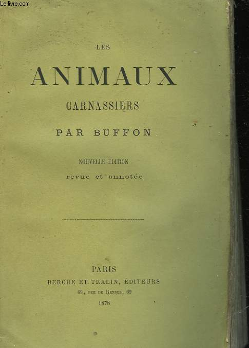 LES ANIMAUX CARNASSIERS