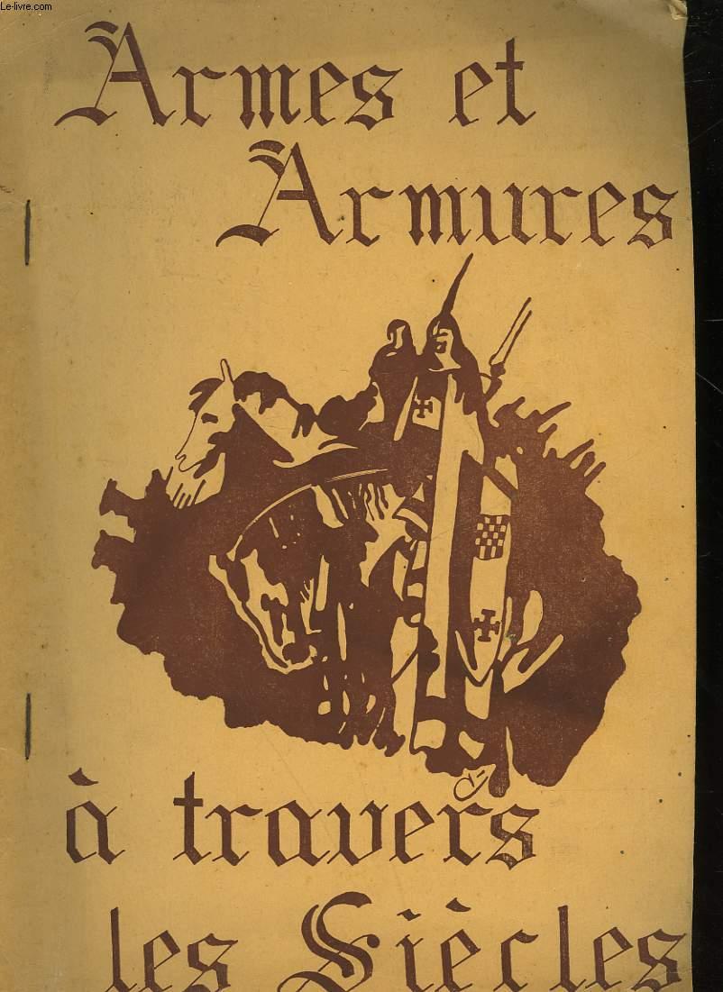 CATALOGUE DES ARMURES - ARMES - ARMES D'HASY - SOUVENIRS HISTORIQUES