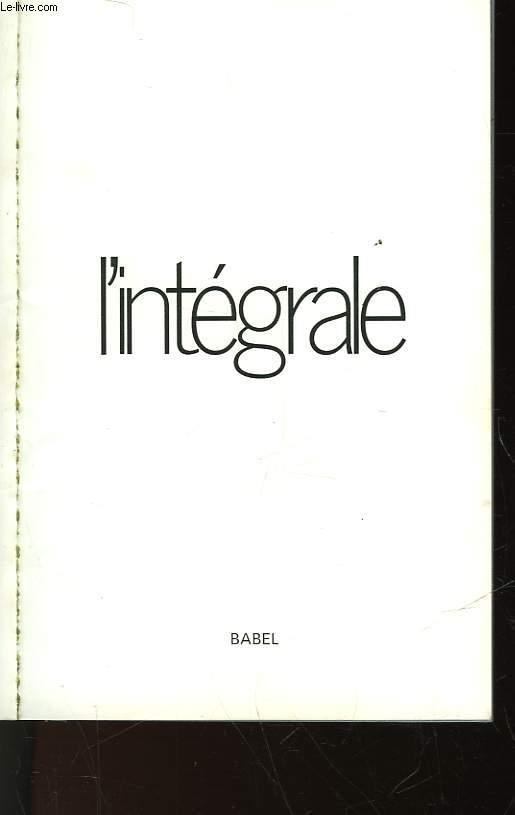 L'INTEGRALE