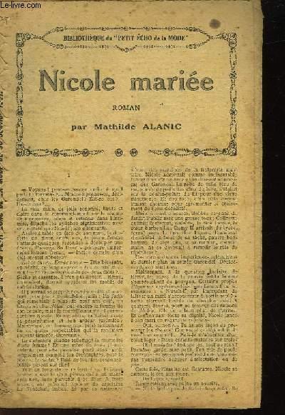 NICOLE MARIEE