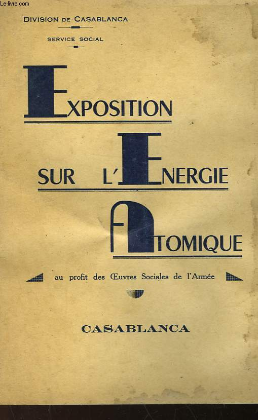 EXPOSITION SUR L'ENERGIE ATOMIQUE