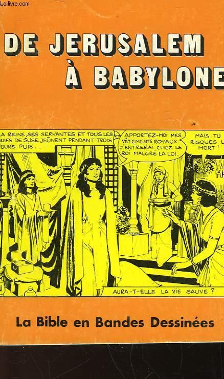 DE JERUSALEM A BABYLONE