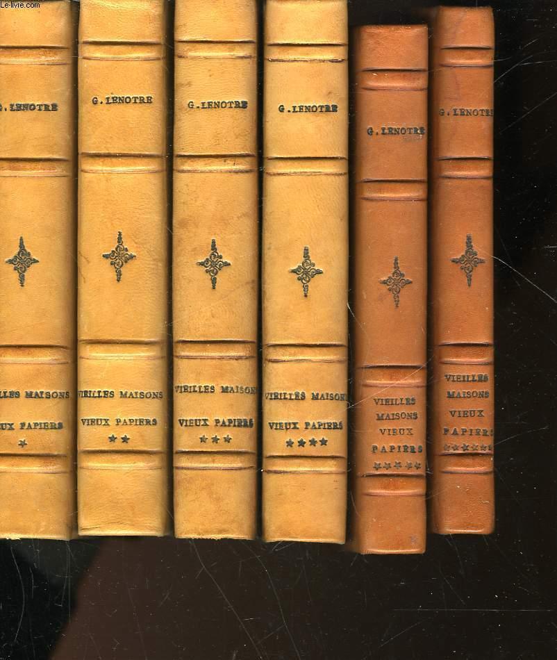 vieilles maisons vieux papiers 6 tomes de lenotre g achat livres ref ro30039802 le. Black Bedroom Furniture Sets. Home Design Ideas