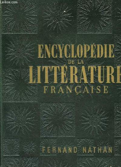 ENCYCLPEDIE DE LA LITTERATURE FRANCAISE