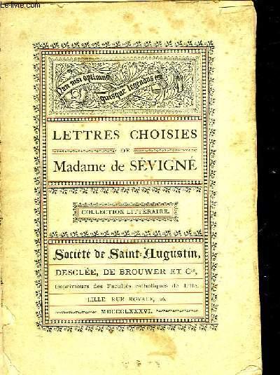 LETTRES CHOISIES DE MADAME DE SEVIGNE