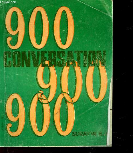 CONVERSATION 900 - 4°LIVRE