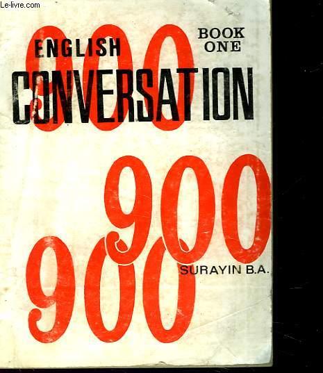 CONVERSATION 900 - 1° LIVRE