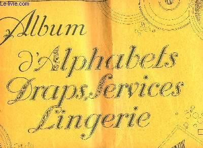 ALBUM D'ALPHABETS DRAPS SERVICES LINGERIE - VOLUME 2