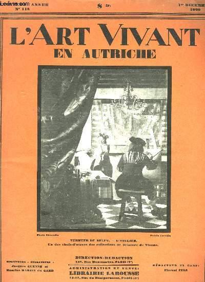 L'ART VIVANT EN AUTRICHE - 5° ANNEE - N°118