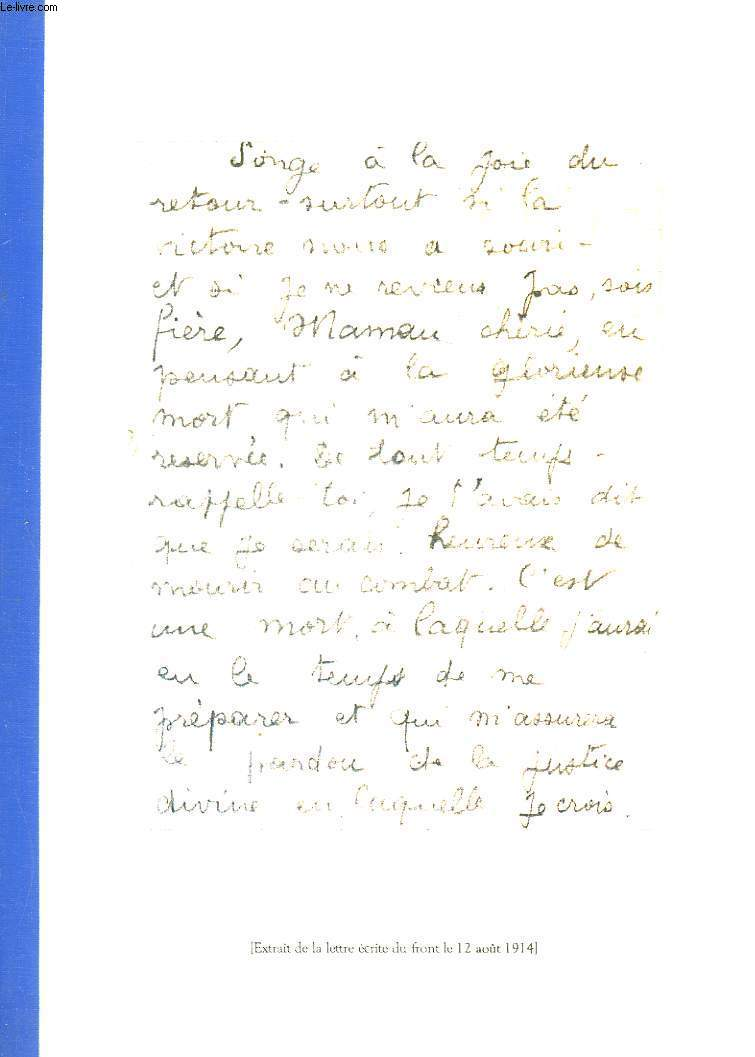 JEAN LABROQUERE - 19 MAI 1891 - 20 AOUT 1914