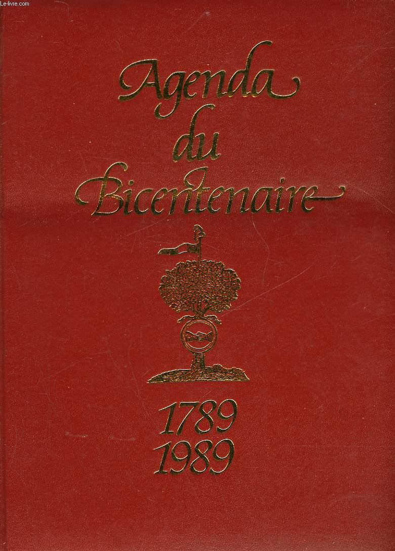 AGENDA DU BICENTENAIRE 1789-1989