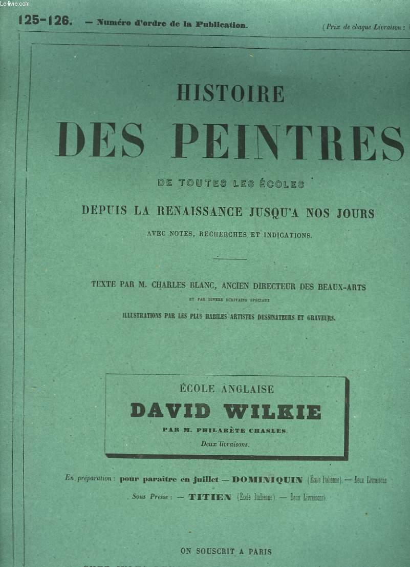 HISTOIRE DES PEINTRES DE TOUTES LES ECOLES DEPUIS LA RENAISSANCE JUSQU'A NOS JOURS - N°125-126