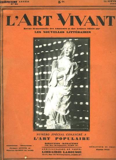 L'ART VIVANT - 4° ANNEE - N°90