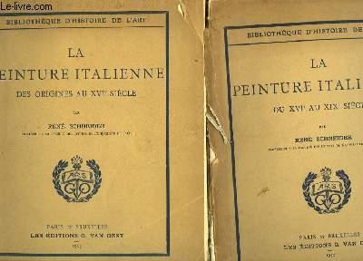 LA PEINTURE ITALIENNE - 2 tomes