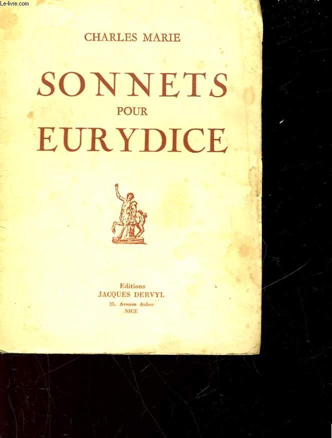 SONNETS POUR EURYDICE