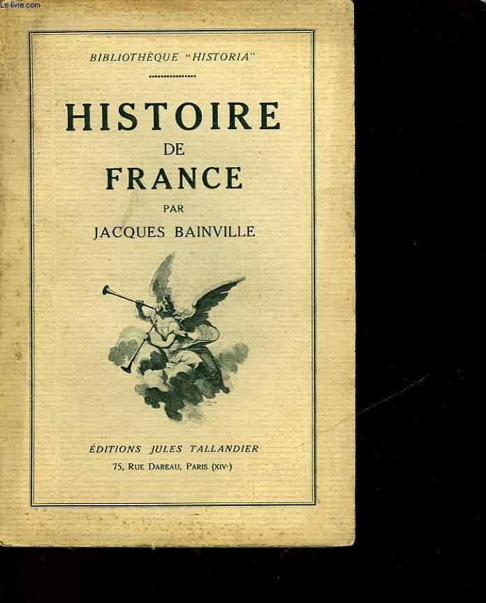 HISTOIRE DE FRANCE - TOME SECOND