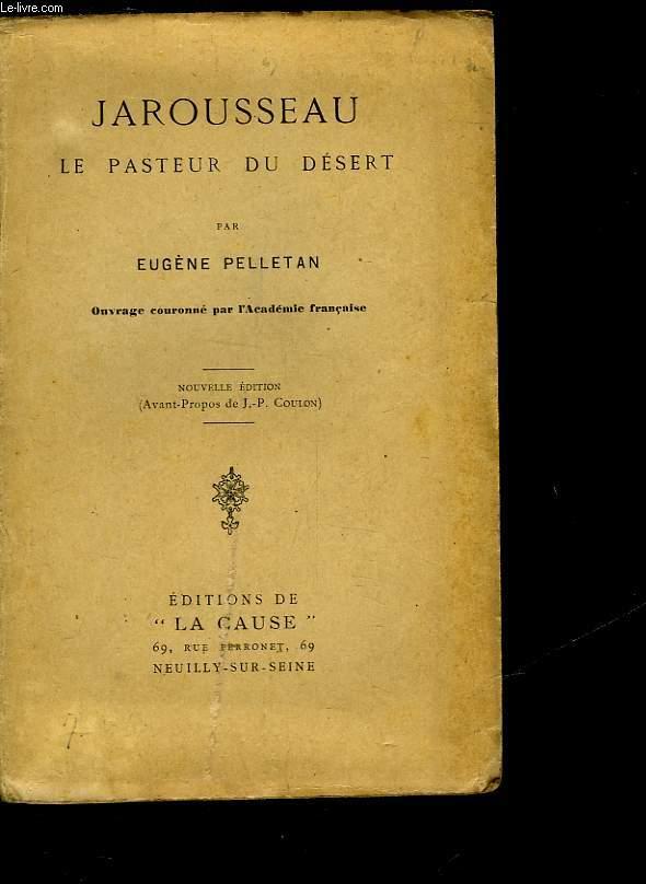 JAROUSSEAU LE PASTEUR DU DESERT