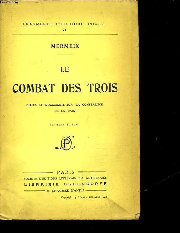 LE COMBAT DES TROIS
