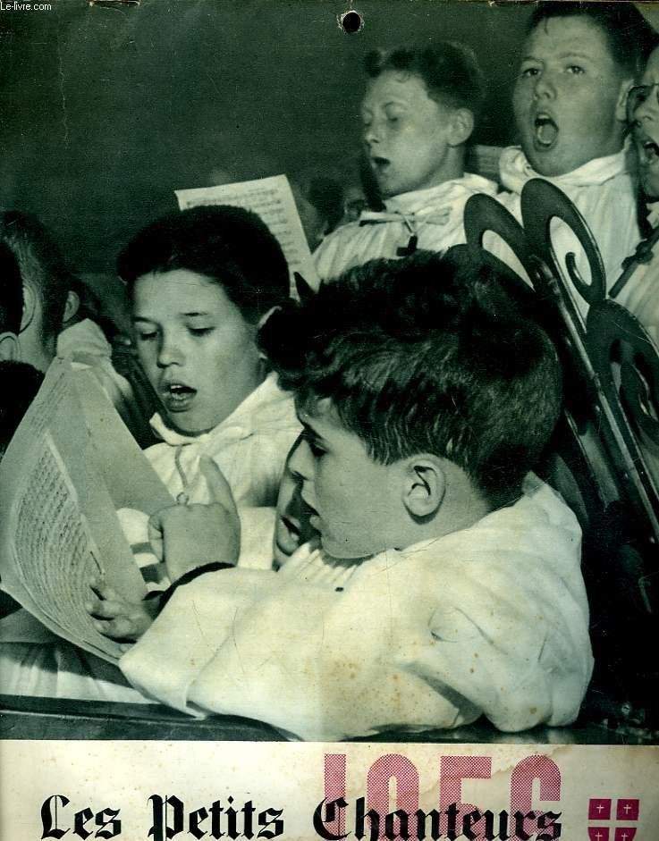 LES PETITS CHANTEURS - AGENDA - 1956