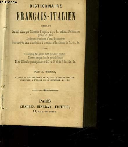 DICTIONNAIRE FRANCAIS-ITALIEN