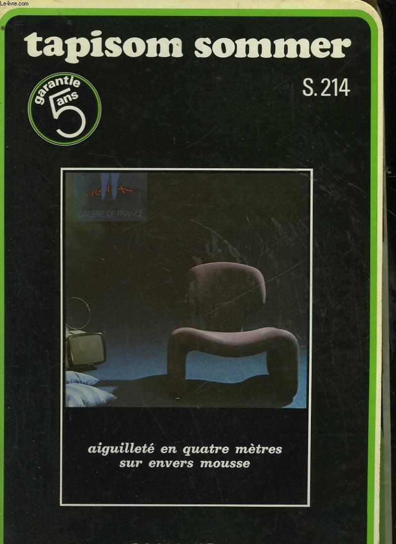 SOMMER - TAPISOM SOMMER - S. 214