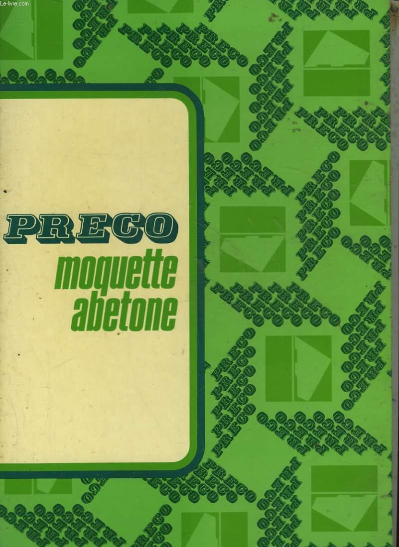 PRECO - MOQUETTE ABETONE