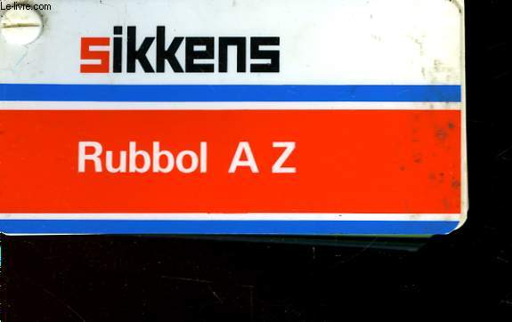 SIKKENS - RUBBOLL A Z