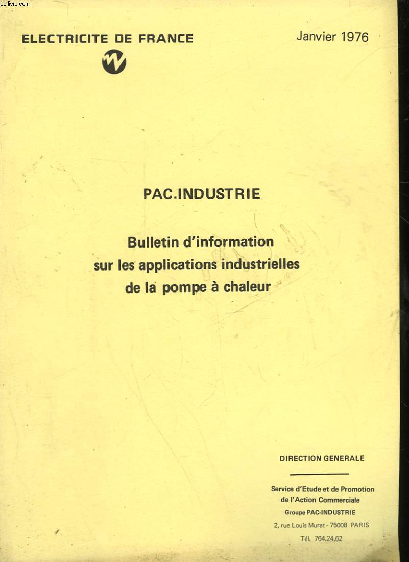 PAC INDUSTRIE
