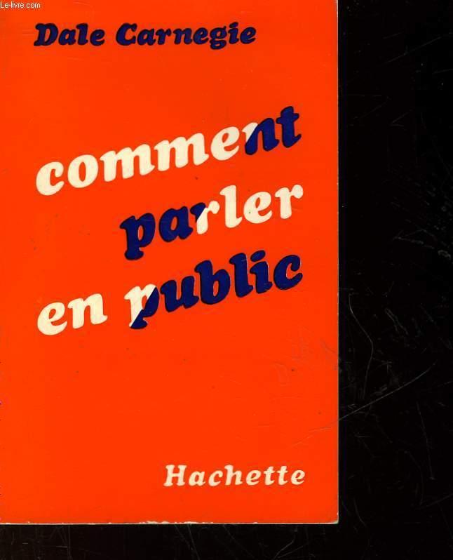 COMMENT PARLER EN PUBLIQUE