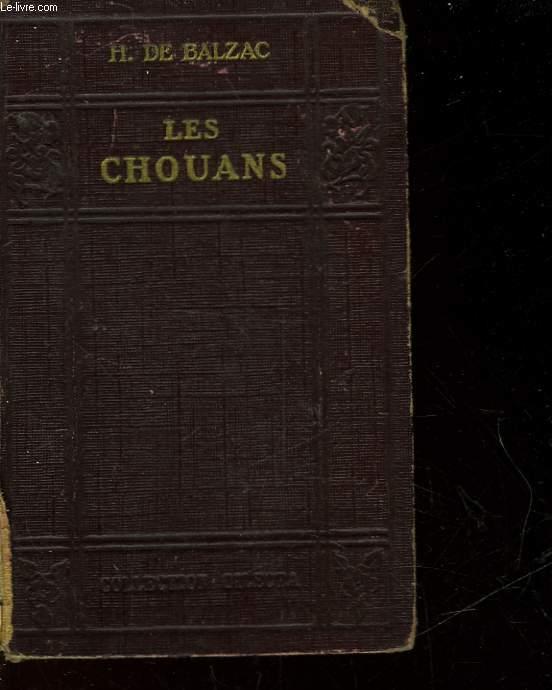 LES CHOUANS OU LA BRETAGNE EN 1799 - FRAGMENTS