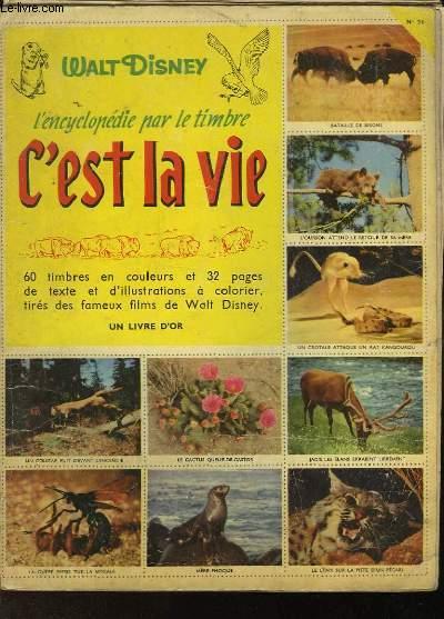 L'ENCYCLOPEDIE PAR LE TIMBRE - C'EST LA VIE - N°24