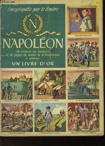L'ENCYCLOPEDIE PAR LE TIMBRE - NAPOLEON N°2