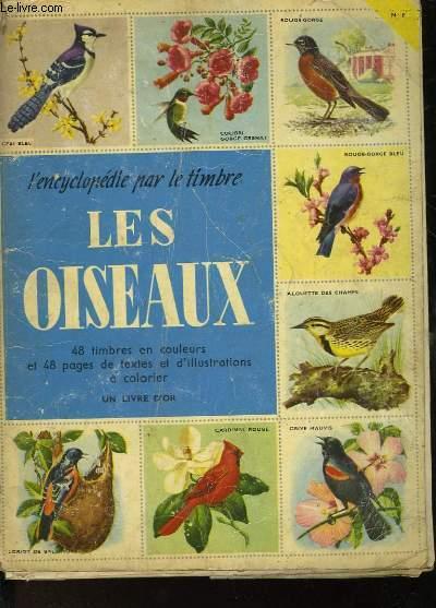L'ENCYCLOPEDIE PAR LE TIMBRE - LES OISEAUX- N°8