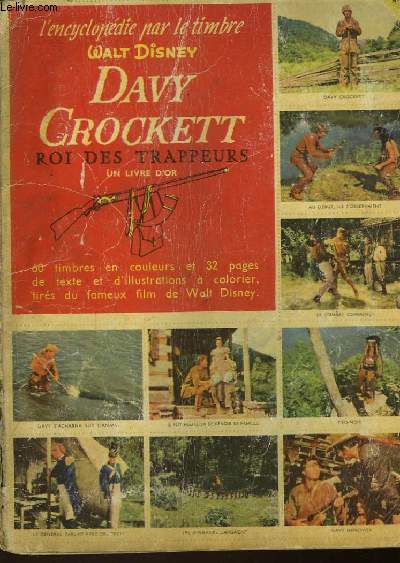 L'ENCYCLOPEDIE PAR LE TIMBRE - DAVY CROCKETT